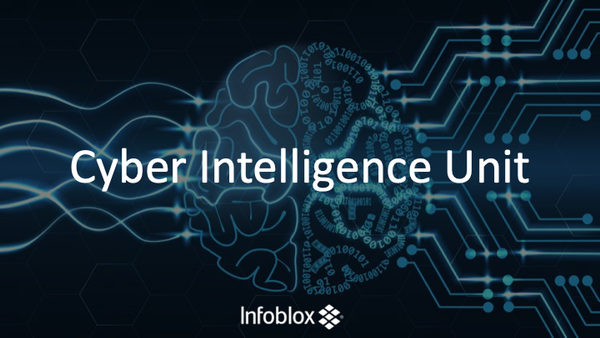 Meet Infoblox's Cyber Intelligence Unit