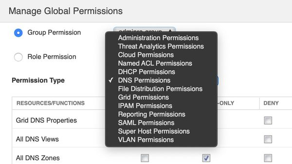 Manage Global Permission
