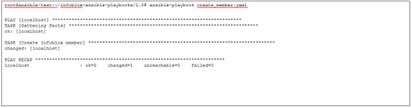 un the playbook use the ansible-playbook command
