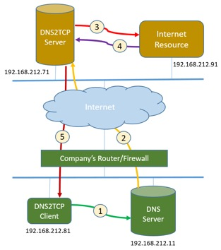Figure 1. How DNS2TCP works