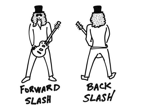 Forward / Back Slash