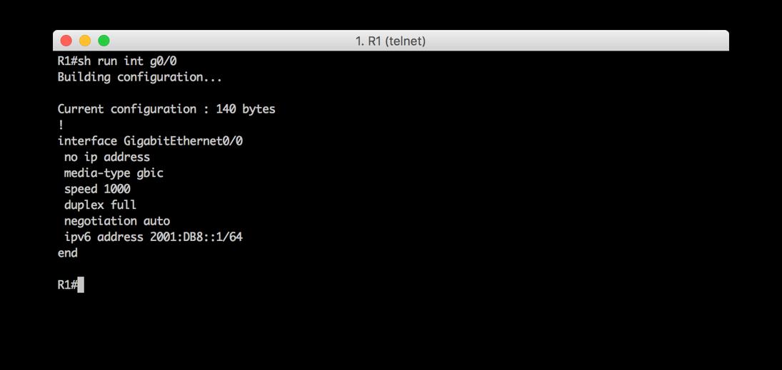 Configuration - GUA address/prefix