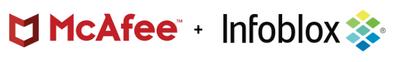 McAfee - Infoblox Logos