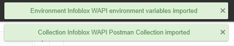 WAPI POSTMAN - Upload Messages