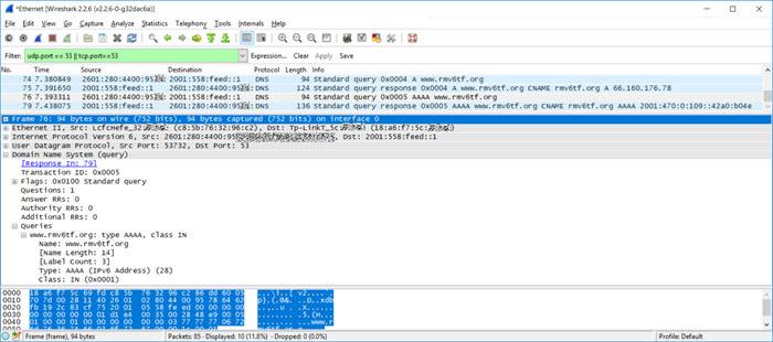 Wireshark Packet Capture